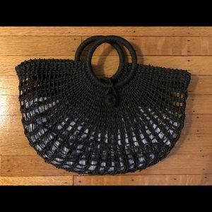 Anthropologie braided bag